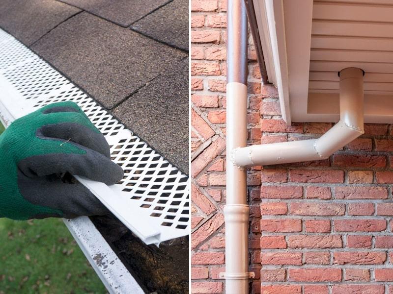 Instalación de canaletas y desagües